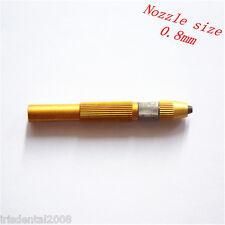 1 Piece Domestic Sandblasting Pen For Dental Lab Equipment Sandblaster 0.8mm