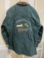 Vtg Walls Mountain Jacket Men's XL United Transportation Union Trainmen Minot ND