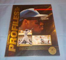 Profiles Icon Sports Premiere Edition Magazine 1992 Ken Griffey Jr COA