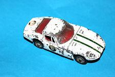 Corgi Toys White Marcos Volvo 1800 GT Sports Car # 324 !!!
