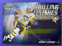 2019-20 O-Pee-Chee Platinum Thrilling Finishes #TF-8 Sidney Crosby Pittsburgh