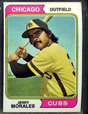 1974 TOPPS  # 258 JERRY MORALES CUBS EX/NM