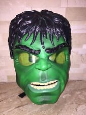 INCREDIBLE HULK GLOW MASK USED WORKS