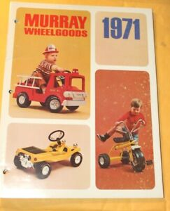 1971 Murray Wheel-goods for 1971 Dealer catalog 19 pages