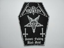 NIFELHEIM  COFFIN      EMBROIDERED PATCH