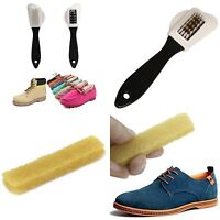 3 Sides Cleaning Brush & Rubber Eraser  for Suede Nubuck Shoes Boot Cleaner 2016