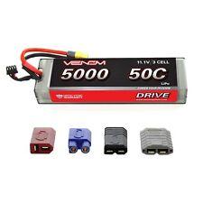 Venom 50C 3S 5000mAh RC 11.1V LiPo Battery with Deans EC3 Traxxas Tamiya Plug