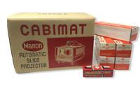 Vintage Cabimat Cabin Automatic Slide Projector 35 Includes Slides NOS