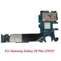 For Samsung Galaxy S8 Plus SM-G955U 64GB Main Motherboard Unlocked Android 7.0