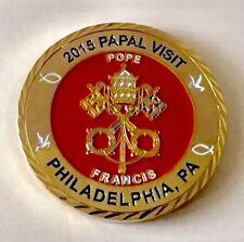 POPE PAPAL AMTRAK RAILROAD CANINE K9 SOU 2015 PHILADELPHIA POLICE CHALLENGE COIN