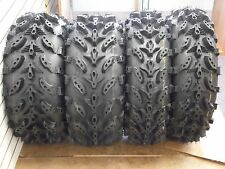 "27"" SWAMP LITE ATV TIRES (2) 27X9-14 (2) 27X11-14 DEEP LUG  FULL COMPLETE SET 4"