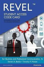 REVEL for Business and Professional Communication  -- Access Card (3rd Edition),