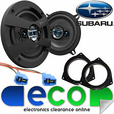 Subaru Impreza 93-07 SCOSCHE 13cm 320 Watts 4 Way Front Door Car Speakers & Kit