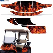 New EZ-Go TXT Graphic Kit Golf Cart Decal Sticker 2 Seat EZGO Wrap 94-13 ICE ORG