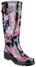 Chaussures noires à motif Fleuri pour femme pointure 38
