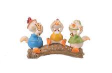 3 Ducks trinket box hand made by  Keren Kopal with Austrian crystals