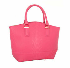 Zip Leather Outer Handbags Snakeskin Totes