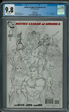 JUSTICE LEAGUE OF AMERICA #1 CGC 9.8 (6/07) DC 3rd print white pages