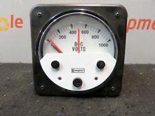 Byram Crompton DC Volt 0-1000 Amp DSP Relay Meter