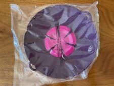 """Large Lid & Splatter Guard for Pot & Pans 11"""" Kochblume Spill Stopper Purple"""