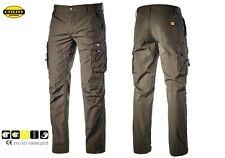 Pantaloni da lavoro estivi 215 gr/m WIN Diadora Utility grigio uomo donna tg M