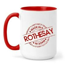 Made in Rothesay Mug in Different Colours, Gift, Home, Town, Place
