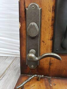 Rocky Mountain Hardware E727 Entry Dead Bolt/Spring Exterior White Bronze Medium