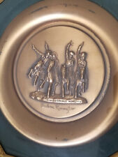 Frederick Remington Limited Edtion Coming Throught the Rye Bronze Plate #5321