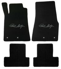 Mustang Carpet Floor Mats w/Shelby Signature Logo- 2013-2014 Coupe & Convertible