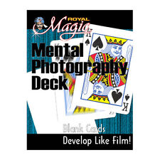 Mental Photography Deck Card Trick Blank Cards Turned into Printed Deck