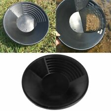 Plastic Basin Nugget Mining Pan Gold Dual Riffle Dredging Prospecting River Tool