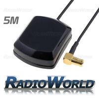 GPS SMB Internal / External Magnetic Aerial Antenna 5m Blaupunkt Audi VDO VW