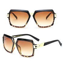Large Retro Vintage Metal Bar AVIATOR Square Designer Men Fashion Sunglasses