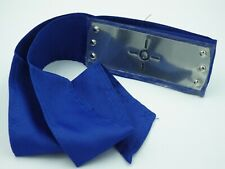 Bandeau cosplay NARUTO Shippuden Sigle signe Neuf plaque métal bande bleu