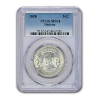 1935 Hudson NY Sesquicentennial Half Dollar MS-64 PCGS - SKU#156757