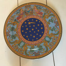 "Rosenthal Versace Ltd Edition 1997 ""Nativite"" Christmas 30cm Wall Plate & Box"