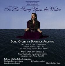 Patrice Michaels - To Be Sung Upon the Water: Song Cycles [New CD]