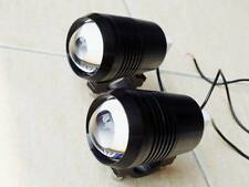 CNC Spotlight Fog Head light LED Driving Flashing 15W Chopper Bobbers Models