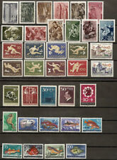 Yugoslavia 1956 Complete year all issues, MNH