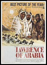 Lawrence Of Arabia  3  Poster Greatest Movies Classic & Vintage Films