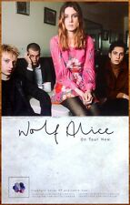 WOLF ALICE Creature Songs 2014 Ltd Ed RARE Poster +FREE Rock/Pop/Indie Poster!