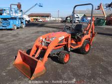 2012 Kubota BX25D Hydraulic 4WD Backhoe Wheel Loader Tractor Diesel bidadoo