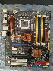 ASUS P5Q PRO, LGA 775/Sockel T, ATX Motherboard gebraucht mit IO Blende