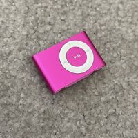 Apple iPod Shuffle 2nd Generation 1GB A1204 Pink Tested Working