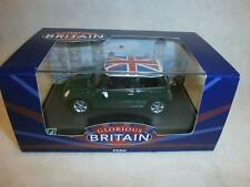 HONGWELL GLORIOUS BRITAIN MINI COOPER UNION JACK ROOF BNIB 1:43