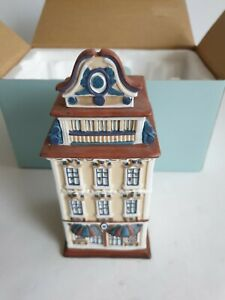 Beautiful Partylite Amsterdam Cafe/Coffee House or Boutique/Shop Tealight Holder