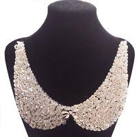 Rose Gold Bead Sequins Bowknot Black Neck Collar