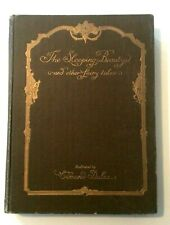 VTG HB THE SLEEPING BEAUTY & OTHER FAIRY TALES by A. COUCH, ILLUSTRATED by DULAC