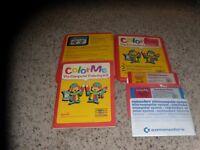 Color Me The Computer Coloring Kit & Rainbow Brite Commodore 64 C64 Programs