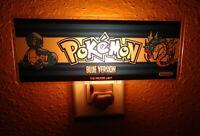 Pokemon Blue Arcade Marquee Night Light